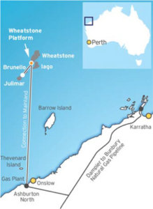 Wheatstone liquefied natural gas project